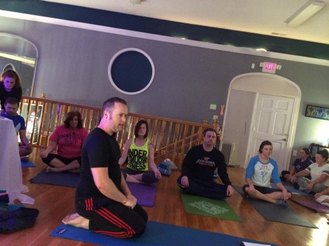 adam hartley  yoga instructor in lenoir north carolina